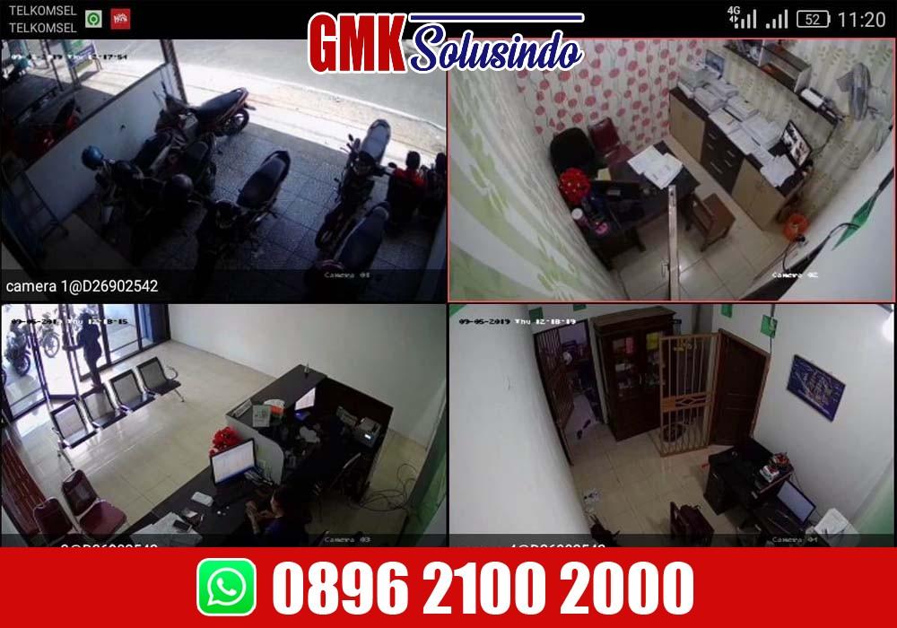 Pasang CCTV Lengkap Murah